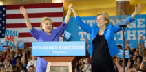 BREAKING: Clinton Follows Warren On Twitter Today, Follows Her On Policy Always