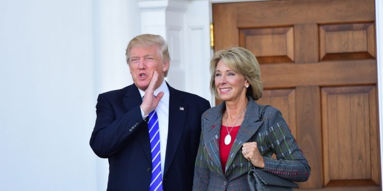 FACT CHECK: Hey Bernie, DeVos' Orgs Have Donated $5 Million+ To Dems To Support School Choice